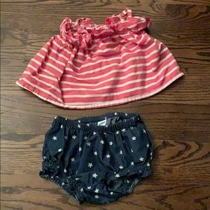 Old Navy 4th of July outfit